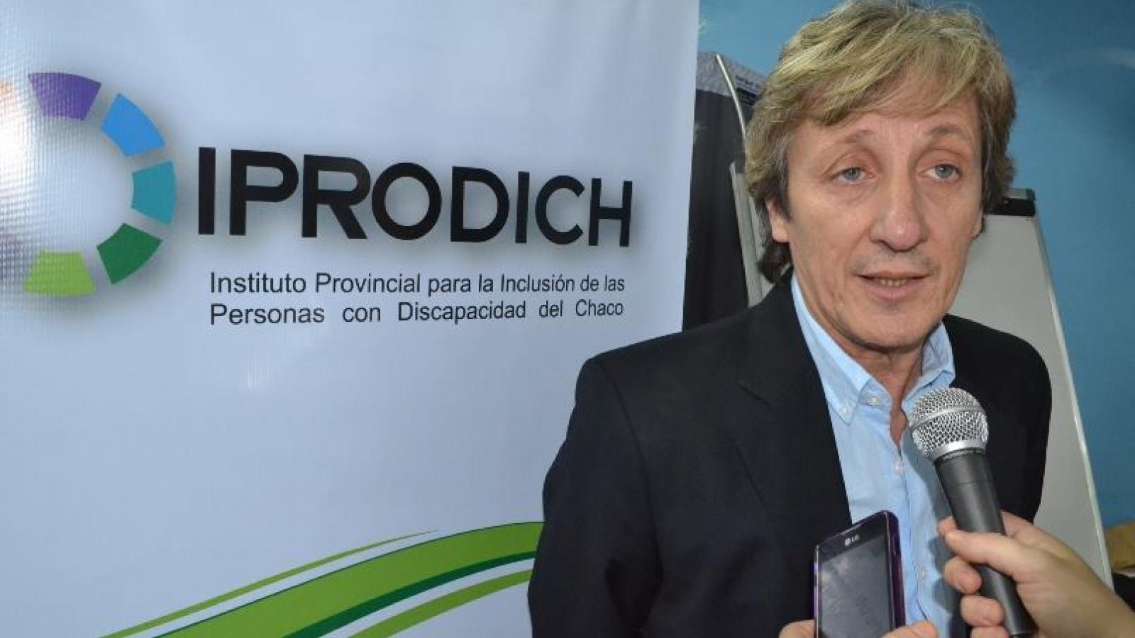 El presidente del IPRODICH José Lorenzo será distinguido por el Senado de la Nación