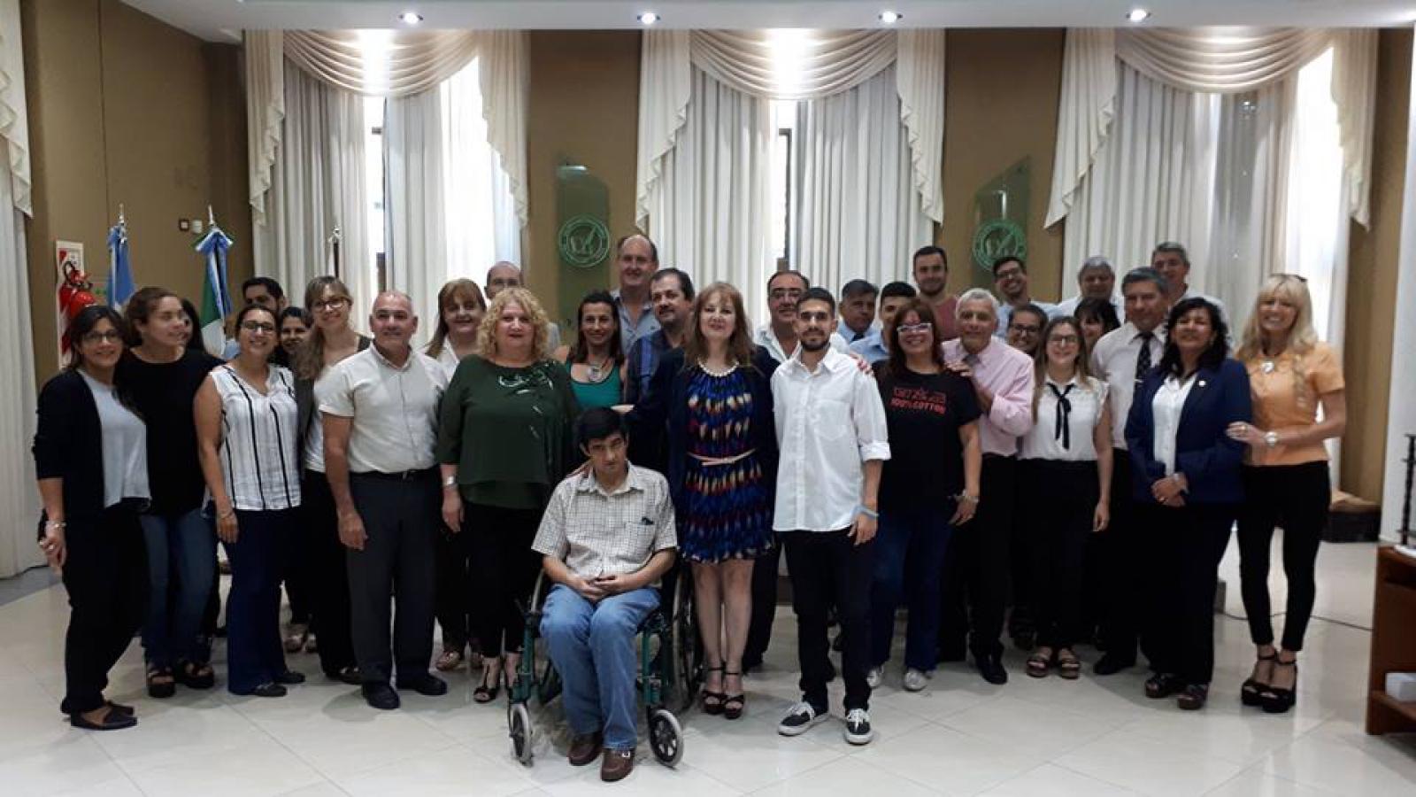 PROVINCIA Y NACIÓN LOGRAN ENTRENAMIENTO LABORAL DE PERSONAS CON DISCAPACIDAD EN EL COLEGIO DE ESCRIBANOS
