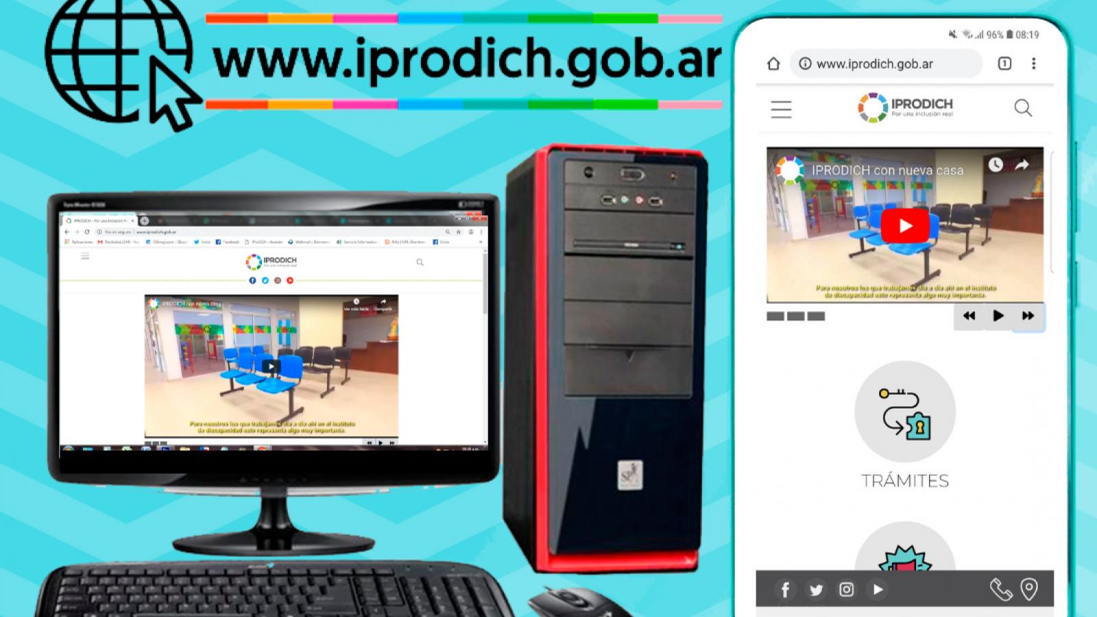 IPRODICH cuenta con renovada página Web más accesible